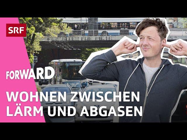 Rosengartenstrasse Zürich: Wie lebt man an der lautesten Strasse der Schweiz? | Forward | SRF Impact