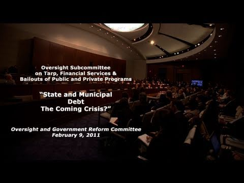 """State and Municipal Debt: The Coming Crisis?"""