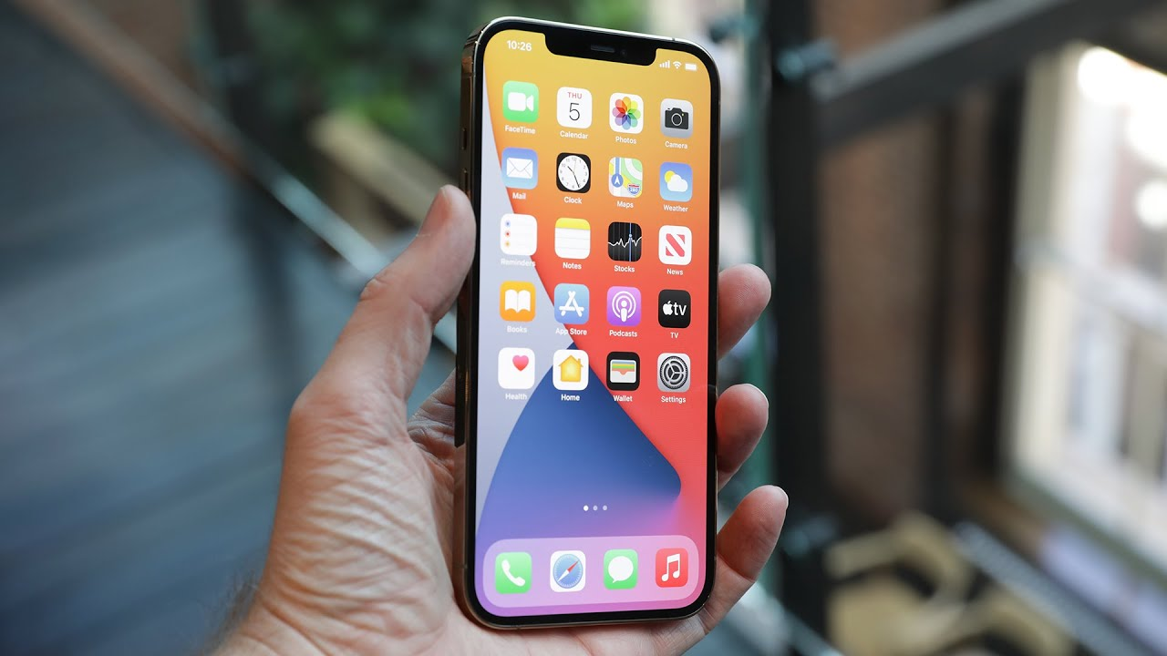 Iphone 12 Pro Max Hands On With The Biggest Iphone Youtube