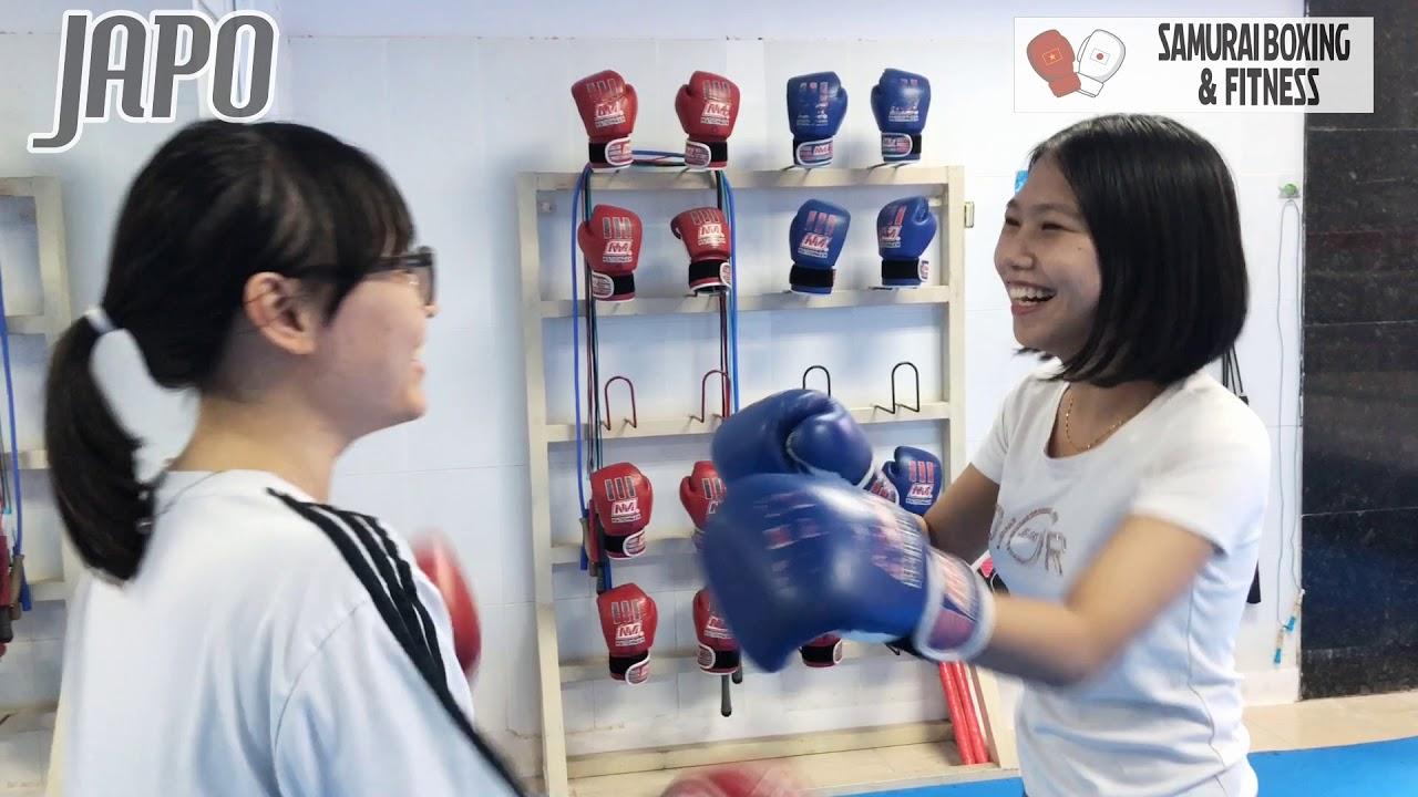 Một buổi tập luyện tại Samurai Boxing Gym