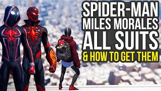 Spider Man Miles Morales All Suits & How To Get Them (Spiderman Miles Morales All Suits)
