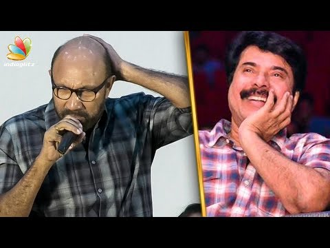 Sathyaraj Nakkal Speech : Mammootty's Peranbu Audio Launch | Comedy