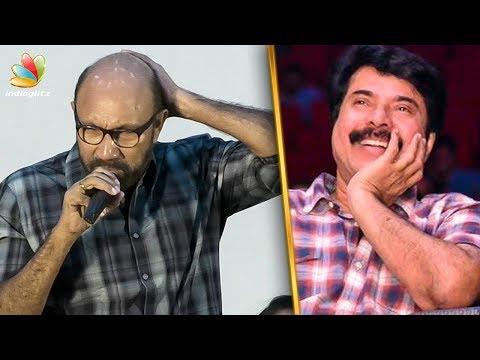 Sathyaraj Nakkal Speech : Mammootty's Peranbu Audio Launch | Comedy