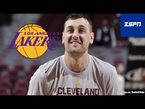Andrew Bogut, Lakers Agree to 1-Year Deal Contract $2.3 Million