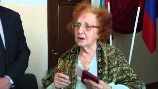 Вручение юбилейных  медалей  «70 лет Победы в Великой Отечественной войне»