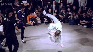 JAPAN vs FRANCE / SPAIN [bgirl] // .stance // Battle of the Year 2015