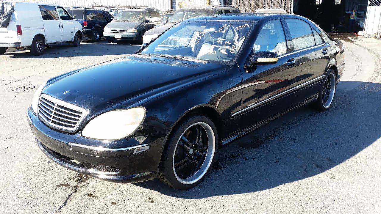 2001 mercedes benz s55 amg black for sale look fast for Mercedes benz s55