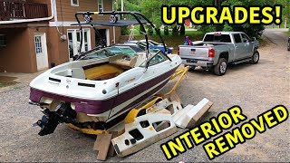 Rebuilding A Super Cheap Wrecked Boat Part 5