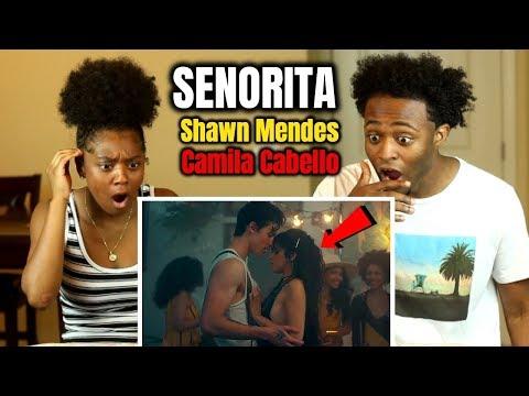 shawn-mendes,-camila-cabello---señorita-(gets-frisky!!😳)-reaction