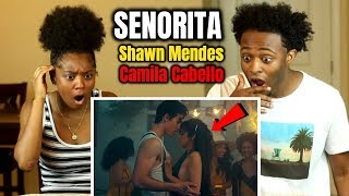 Shawn Mendes, Camila Cabello - Señorita (GETS FRISKY!!😳) REACTION