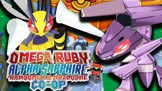 OP LEGENDARY RIVAL!?   Pokemon Omega Ruby Alpha Sapphire RANDOMIZER Nuzlocke Co-Op #7