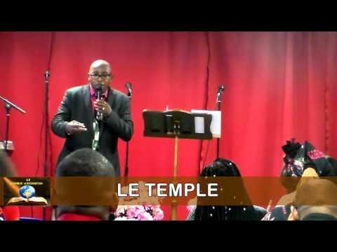Le Temple avec l'Ancien Roger MALABU Assemblée la Résurrection Rennes