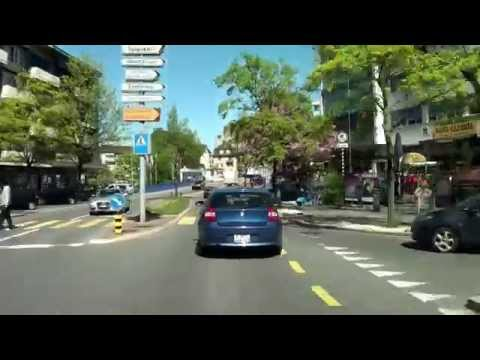 Driving from Zürich City to Embrach /Switzerland/ 04.2014/ FullHD