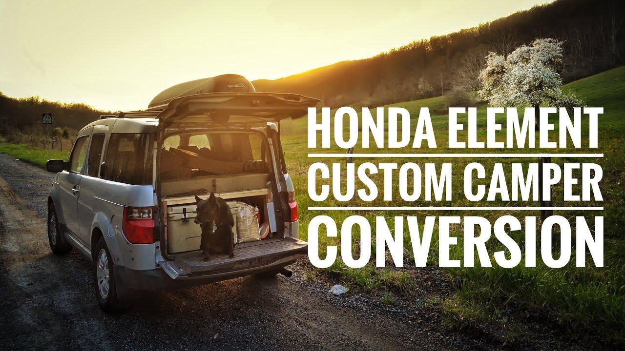 Honda Element Camper Conversion - YouTube