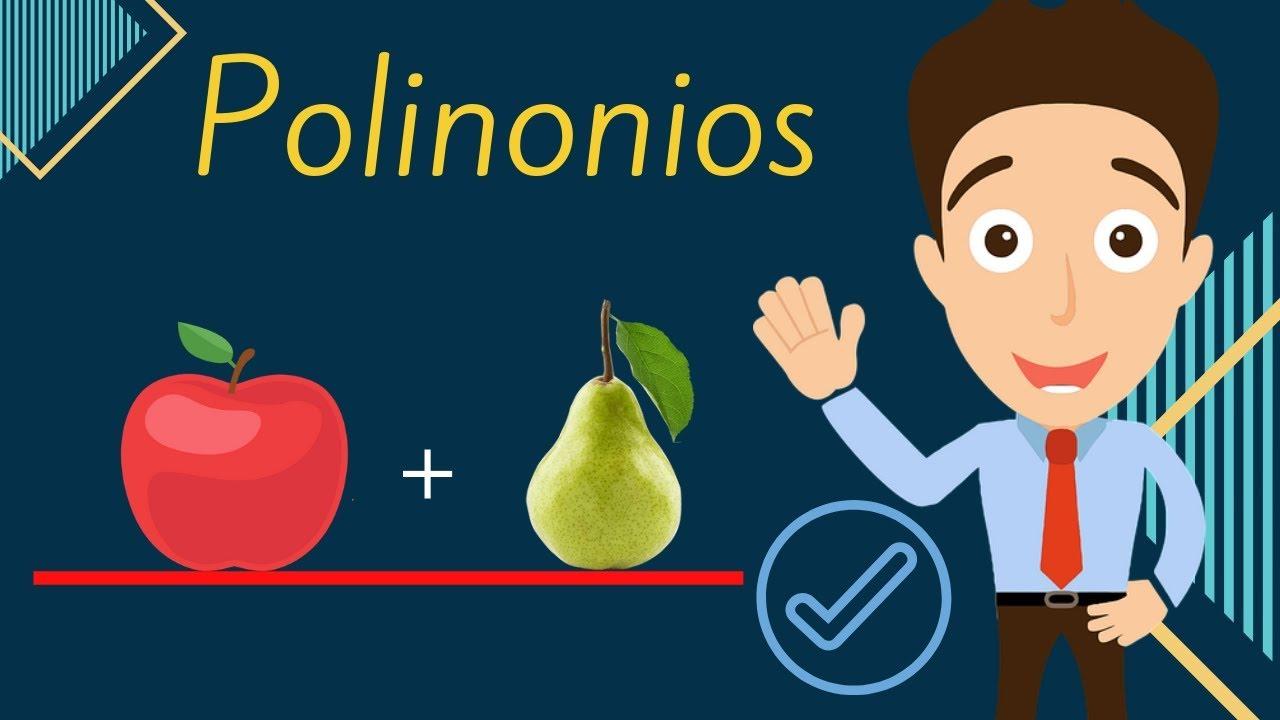 SUMA Y RESTA DE POLINOMIOS - Reducción de Términos