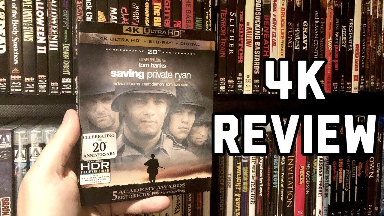 Download Saving Private Ryan 4K UltraHD Blu-ray Review & GIVEAWAY   20th Anniversary   Dolby Atmos