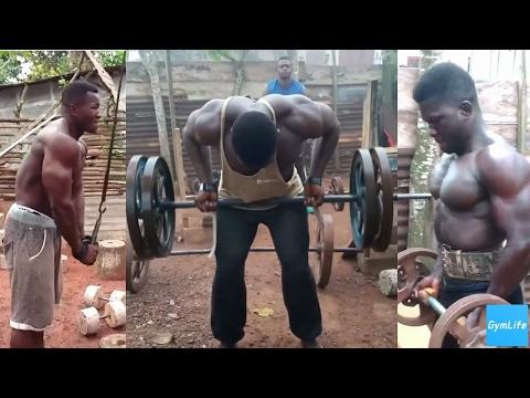African Bodybuilders   Real determination   GymLife
