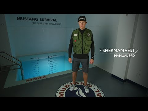 Inflatable Fisherman Vest | Mustang Survival