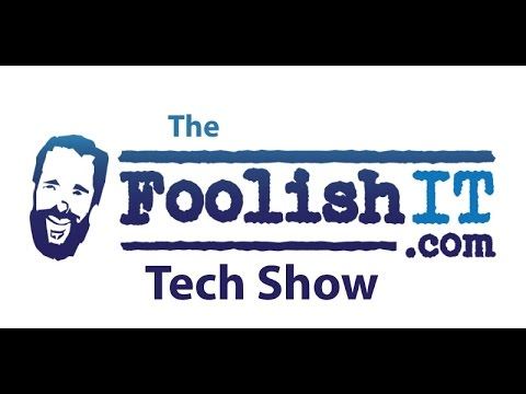 Foolish Tech Show (Some Current News and Ending on Some Support)