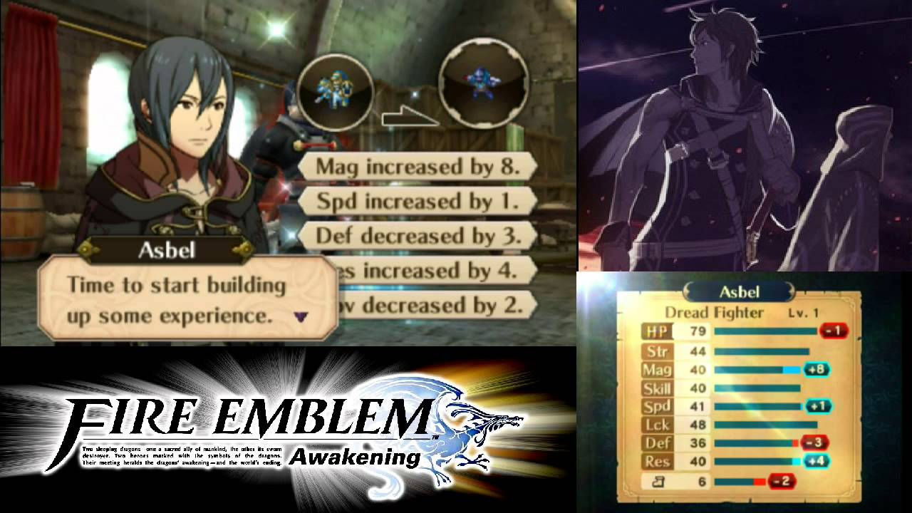 Fire Emblem: Awakening - DLC Dread Fighter Class (Male Only) - YouTube: https://www.youtube.com/watch?v=Lg6567zoFvk