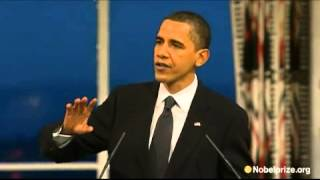Obama on Just War doctrine and emergence of unconventional warfare