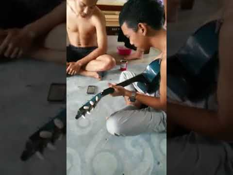 Budak kelantan pandai nyanyi lagu iban taju remaong jempuk .