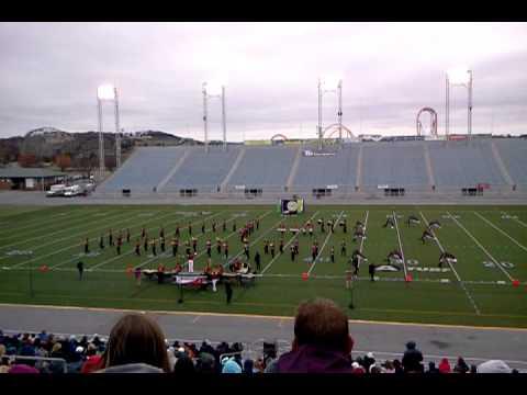 James M. Bennett High School Marching Band