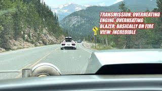 RACE WEEK Day 5: Driving My 2,000 Horsepower Racecar 540 Miles Through SKETCHY Mountain Roads!!!