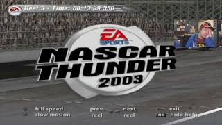 (Funniest Moments Of Season 4) NASCAR Thunder 2003 Career Mode