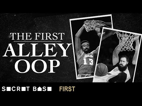 Dunking was illegal when the alley oop was born | 1st