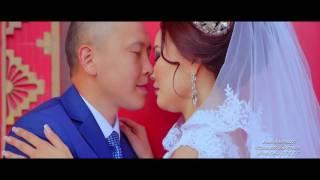 Видео съемка свадьбы с воздуха. Свадебный клип Кермен-Сангаджи Горяевой. Элиста.