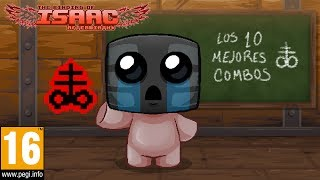 ¡LOS 10 MEJORES COMBOS CON BRIMSTONE! The Binding of Isaac Afterbirth+