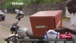 Cookshop.biz featured on CCTV Africa Global Business