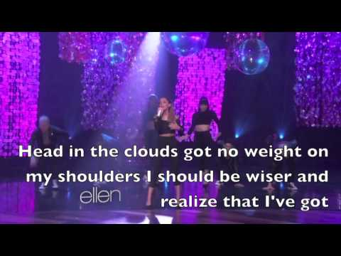 Problem - Ariana Grande lyrics (Ellen Show Live)