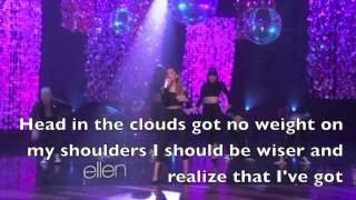 Ariana Grande peforming Problem Live at Ellen.