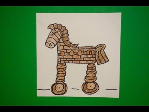 Let's Draw a Trojan Horse!