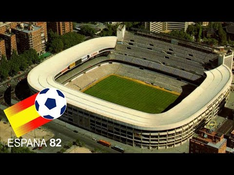 FIFA World Cup 1982 Spain Stadiums