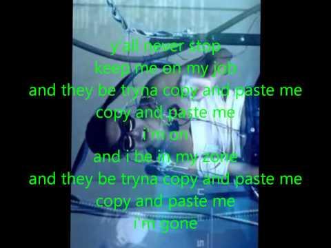 diggy simmons copy paste lyric video