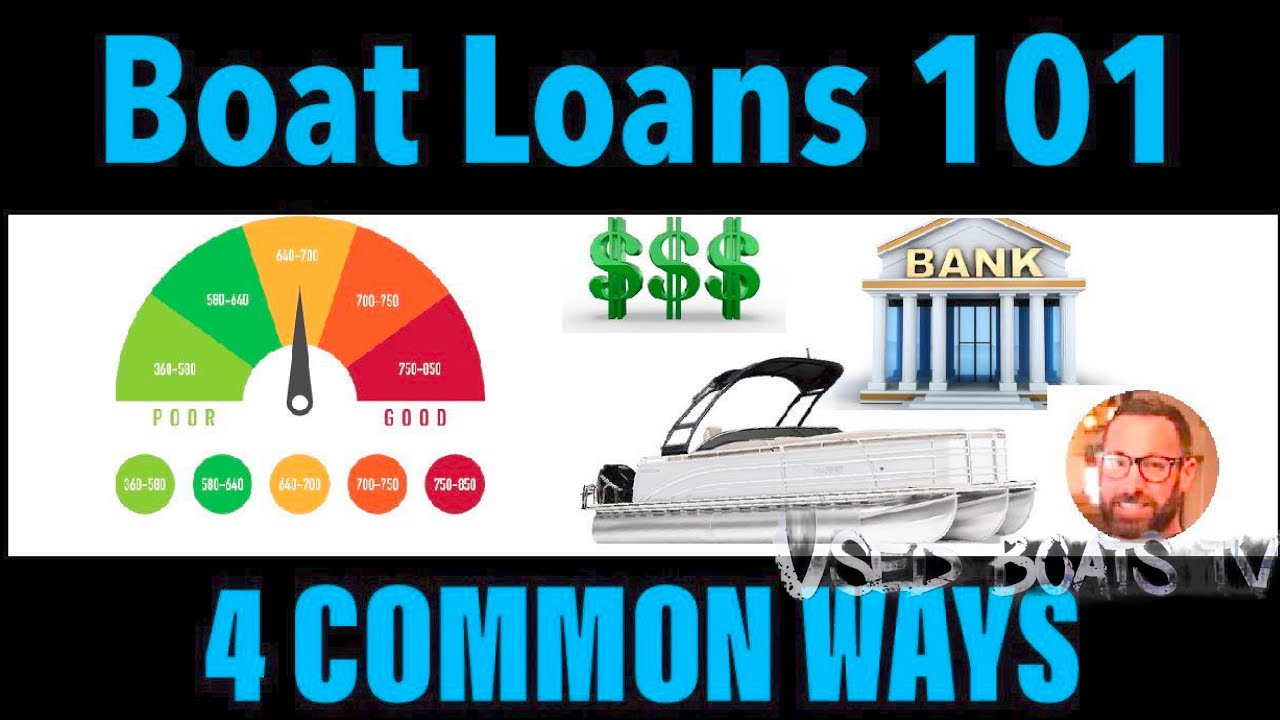 How Does Marine Financing Work For A Boat Loan Youtube