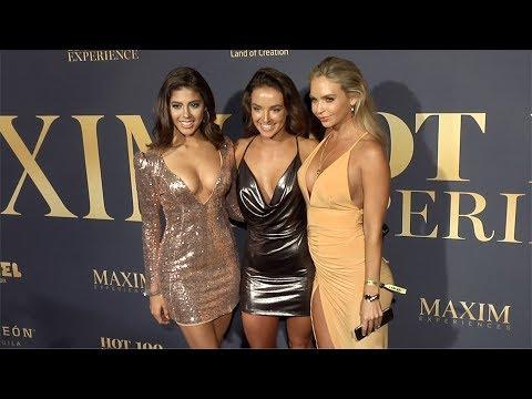 Sierra Nowak, Casey Boonstra, Casey Costelloe 2018 Maxim Hot 100 Experience