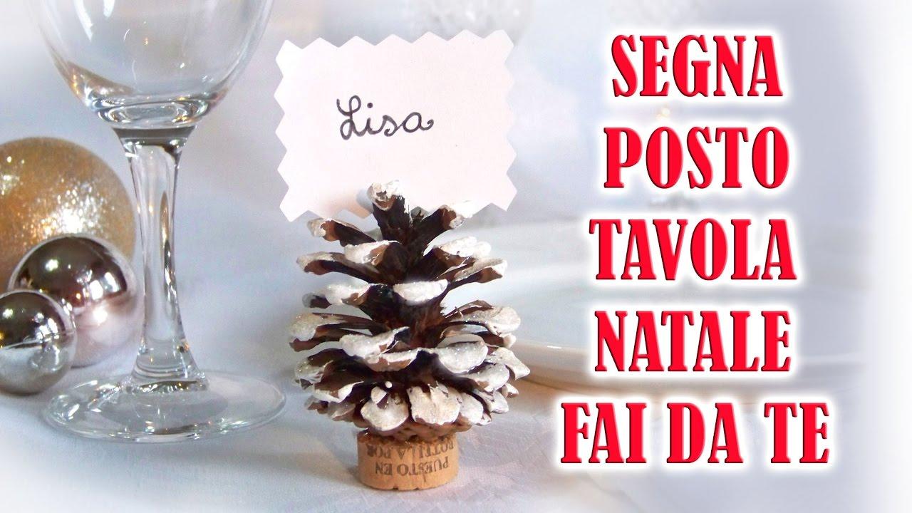 Tutorial segna posto fai da te per la tavola riciclo creativo di pigne e tappi youtube - Portacandele natalizi fai da te ...