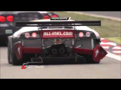 FIA GT1 World Championship - Round 6 - Nurburgring - Championship Race highlights | GT World
