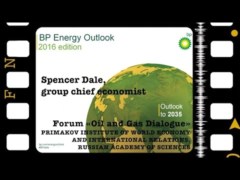 Spencer Dale. Presentation of BP Energy Outlook 2035