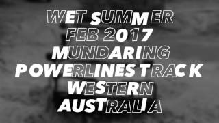 Wet Summer Feb 2017 Powerlines Track Western Australia, Triton & Fj Cruiser