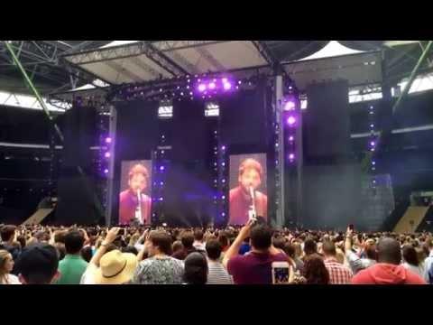 Passenger - Let it go LIVE | X Tour Ed Sheeran Wembleystadium