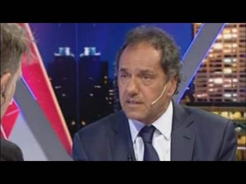Me quedé con las ganas, dijo Scioli tras su derrota electoral