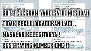 BOT TELEGRAM Penghasil BITCOIN Gratis LEGIT