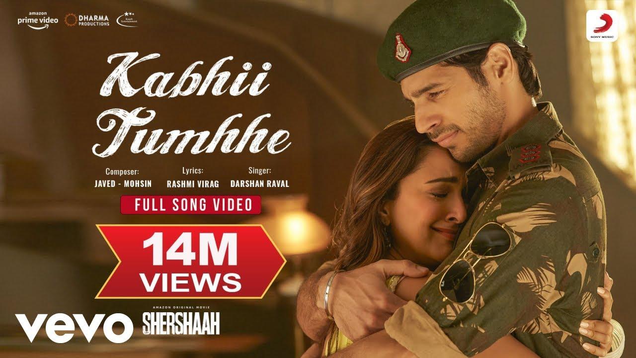 Download Kabhii Tumhhe - Full Song Video|Shershaah|Sidharth–Kiara| Javed-Mohsin| Darshan Raval