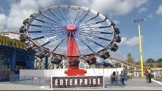 Enterprise Thrill Ride at Fun Spot America Orlando POV