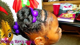 Simple Girls Hairstyle | Let's Talk